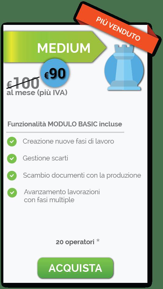 MEDIUM prezzi Scaccomatto